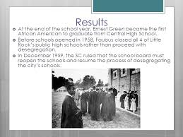 Image result for Little Rock's white high schools opened
