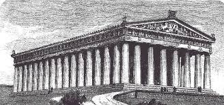 Искусство Древней Греции Классика Перекрёстки моды Парфенон Реконструкция