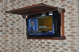 before you install a tv outside consider these 5 things diy backyard for outdoor tv cabinets