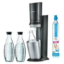 Sodastream 20 Wassersprudler Inkl 2 Glaskaraffen Und