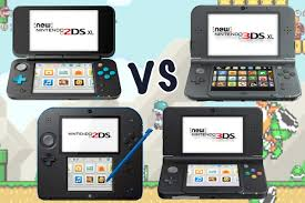Nintendo Dsi Vs Dsi Xl Comparison Chart Nintendo 2ds Xl Vs 2ds Vs 3ds Vs 3ds Xl Whats The Difference