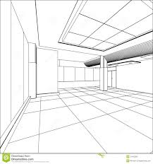 abstract modern office architecture design in 3d stock photo abstract 3d office building