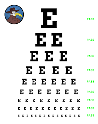 Presbyopia Test Chart Physical Exam Tips The Eye Gomerblog