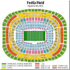 Fedex Field Loge Seating Chart Seat Number Dodger Online Charts Collection