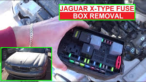 how to remove and replace the engine fuse box on jaguar x type x how to remove and replace the engine fuse box on jaguar x type x type