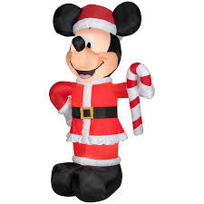 disney 10 49 ft x 3 34 ft lighted mickey mouse christmas inflatable