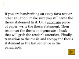 introductory paragraph essay
