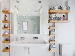 bathroom shelves decor. 001 Contemporary-bathroom 13 Bathroom Shelves Decor B