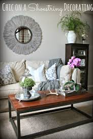 For Decorating A Living Room On A Budget Chic On A Shoestring Decorating Living Room Makeover On A Budget