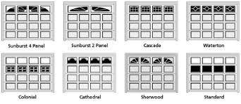 Image Diy Garage Door Window Styles For Short Panel And Long Panel Garage Doors Quality Garage Door Repair Chi Garage Door Installations In Orange County Free Estimates