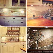 low cost diy kitchen backsplash ideas and tutorials diy kitchen backsplash ideas