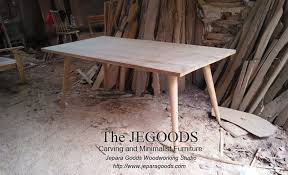 we design and produce modern mid century dining table retro scandinavia furniture styles