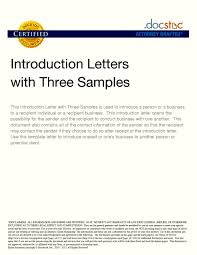 Employee Introduction Letter To Clients Sample Template