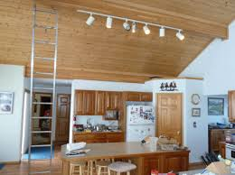 kitchen track lighting led. Attractive Led Kitchen Track Lighting Giving Leds A Try Replacing Overhead Lights With E