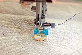Sewing On Buttons With Sewing Machine