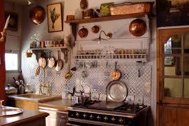 Kitchen:British Country Kitchen With Decorative Backsplash Also Brass Wall  Decor British Country Kitchen With