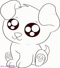 Small Picture Cute Puppy Baby Animal Coloring Pages Coloring Home