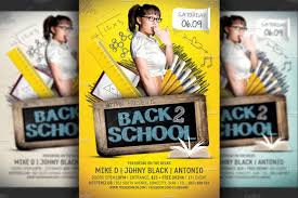 school event flyer photos graphics fonts themes templates back to school party flyer template