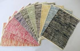 chenille tie dye rug