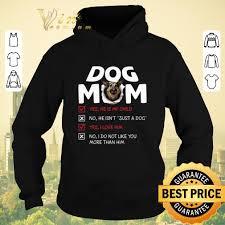 Hot German Shepherd dog mom yes he is ...