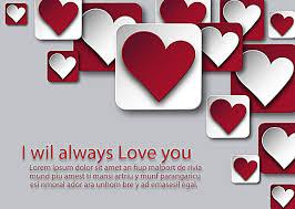 Valentines Day Greeting Card Geometric Wedding Invitations 3d