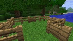 How To Make Fence And Fence Gate In Minecraft Minecraft Stone Fence