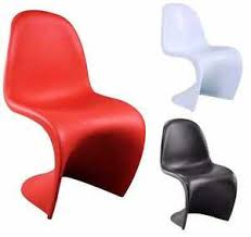 funky style furniture. Image Is Loading 4x-Plastic-Panton-Style-039-S-039-Shaped- Funky Style Furniture