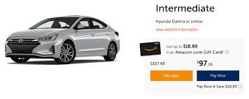 Weekly rates require a minimum five day rental period. Budget Car Rental Rewards Program Details