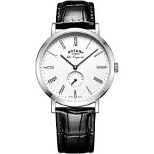 rotary watches men s windsor black leather strap watch gs90190 01 rotary watches men s windsor black leather strap watch