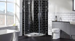 modern bathroom with enclosure shower