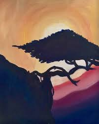 without a doubt bonsai trees are an art form all on their own enjoy painting your own living landscape during this paint night we include a glass of wine