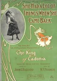 She had a lot of things when she came back : the song hit of J. C. ...