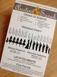 Fun Wedding Programs Posts Similar To Diy Stitched Wedding Programs A 160
