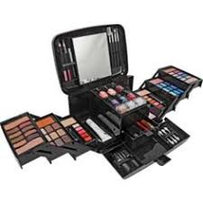 pretty pink deluxe make up set and cosmetics case at argos co uk your for make