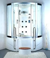 steam shower tub steam shower bath x steam shower enclosure with rain shower jetted whirlpool bath