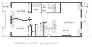 Marvelous 7 Floor Plans Of Modern Apartments Modern  HomecaModern Apartment Floor Plans