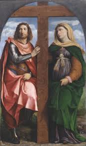 Image result for Saint Constantine and Helen palma vecchio