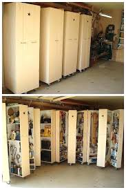 garden tool storage ideas uk 4 homemade rolling cabinets to organize all the tools in garage