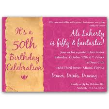Sample Of 50th Birthday Party Program Free 50th Birthday Invitation Wording Samples 50th Birthday Program