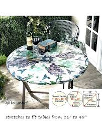 round outdoor table cover outdoor tablecloths with zippers