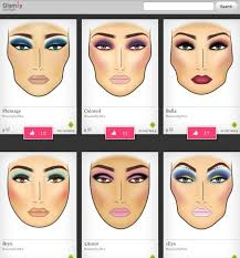 Glamzy Pro Iphone App To Create Face Charts In 2019 Makeup