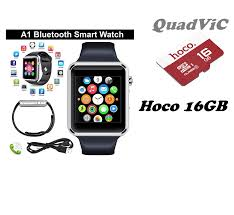 Đồng hồ thông minh Smartwatch Inwatch A1 + tặng thẻ nhớ hoco 16GB – QUADVIC