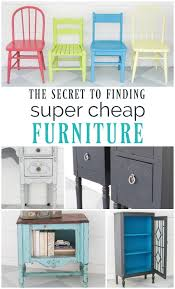 cheap used furniture. Simple Cheap The Secret To Finding Super Cheap Furniture On Cheap Used Furniture