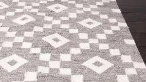 modern flat weave rugs pertaining to geometric pattern grey ivory wool area rug