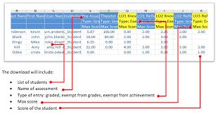 Grade Designation How Do I Export My Grades Home