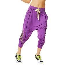 Zumba Womens Lets Go Halfsies Harem Pants