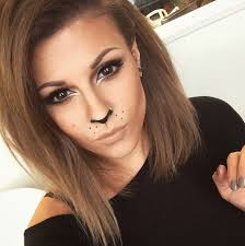 how to lion cat makeup beauty and the dirt