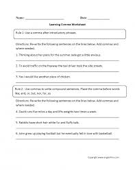 Kids. using commas in a series worksheet: Comma Worksheets Th ...