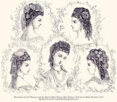 pioneer woman 1800s hair. la mode illustrée archives at vintage field \u0026 garden: 1800s \ pioneer woman hair