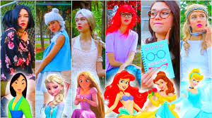 if disney princesses went to school diy last minute costumes you